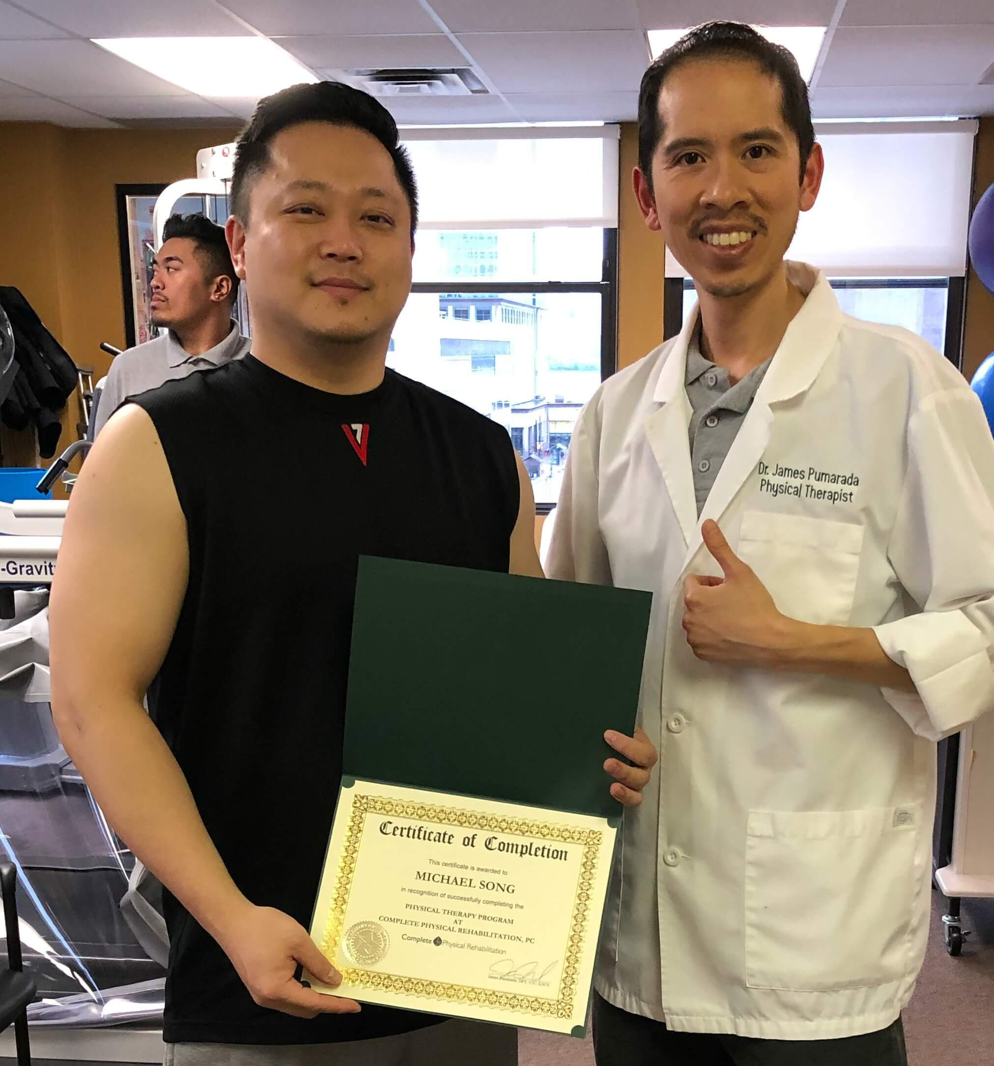 jersey city physical therapy shoulder pain physical therapist dr. james