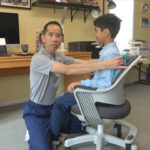 virtual learning home setup tips chair physical therapy jersey city elizabeth nj complete physical rehabilitation