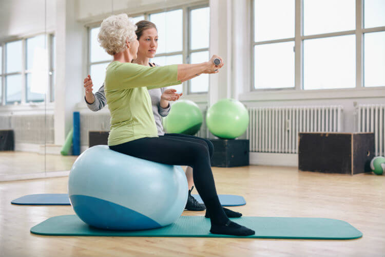 improve balance with core strength physical therapy jersey city elizabeth nj complete physical rehabilitation