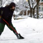 proper snow shoveling technique back pain complete physical reahbilitation jersey city elizabeth nj